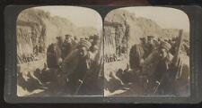 DOUBLEDAY PAGE STEREOVIEW  Russia Japan War- Japanese Trenches Near Port Arthur