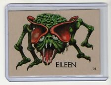 TOPPS 1965 UGLY MONSTER STICKER CARD #24 EILEEN
