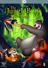 DVD  -  THE JUNGLE BOOK  (1967)  DISNEY   (NEW / NIEUW SEALED)