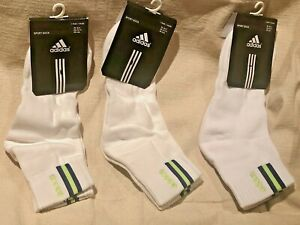 Adidas Athletic Socks Mens Small Medium 7 8 Seahawks Football Seattle Color 3 pk