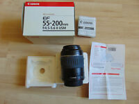 Objektiv Lens Canon Ultrasonic EF 55-200mm 1:4,5-5.6 II USM