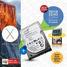 Macbook Pro, Mac mini :: 500GB 2.5 inch:: SSHD (Hybrid) :: OS X Loaded
