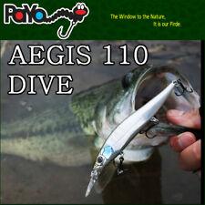 Leurre poisson nageur jerkbait Aegis 110 Dive PAYO 11cm 14gr pêche brochet bar