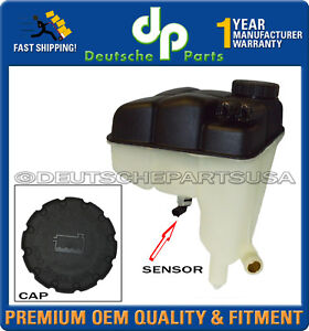 Mercedes-Benz R230 SL Coolant Expansion Tank + Cap + Sensor 2305000149 Set