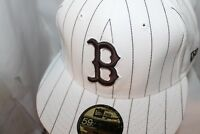 Boston Red Sox New Era MLB Pin Stripe 59Fifty,Cap,Hat,Fitted   $ 37.99     NEW