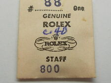 ROLEX CAL. 800 SIZE DD BALANCE STAFF NEW OLD STOCK  ORIGINAL PACKAGE PART SEALED