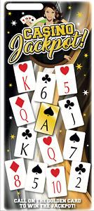 100 SHEETS Hoy Bingo Game, Play Your Cards Right, Casino Jackpot, Fun Bingo