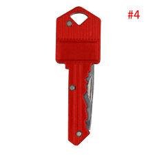 Outdoor Fishing Camping Survival Pocket Folding Blade Key Knife Small Knife