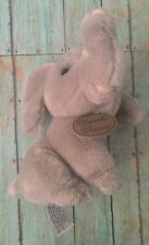 Vtg Yomiko Classics Elephant Plush Stuffed Animal Small Gray Russ Toy
