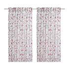 IKEA Aklejruta Pair of Curtains 145 X 300cm