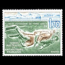 TAAF 1989 - Diving off Adelie Land Marine Life - Sc 150 MNH