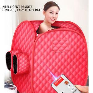 2L Sauna Spa Steam Foldable Portable Tent  Full Body Slim Loss Weight De