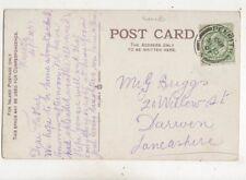 Mr G Briggs Willow Street Darwen Lancashire 1907 608b