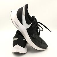 Nike Air Zoom Winflo 6 AQ7497-001 Black Running Shoes Men's Size 13