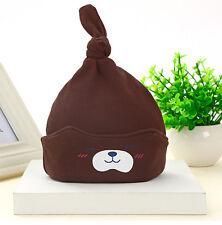 New Unisex Newborn Baby Boy Girl Toddler Infant Cotton Soft Cute Hat Cap Beanie
