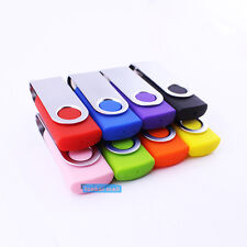 1GB 100PCS Swivel USB Drive 2.0 Memory Flash Thumb Stick Pendrive Mixture Colors