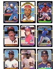 1987 Donruss Hall of Fame Lot (25 different)