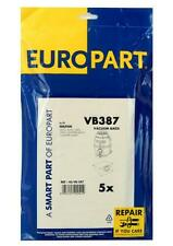 VB387 Europart Dustbags Nilfisk Gs80 Series , Pack Of 5