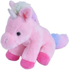"Wild Republic Pocketkins Pink Unicorn 5"" Soft Plush Toy"