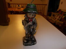 "Vintage Poor Boy Hobo Candle 9 1/2"" Tall Mid Century Kitsch Unused"