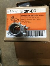 25 NIB BRIDGEPORT 281-DC COMB COUPLING 1/2""