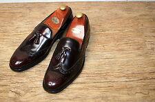Brand New & Rare Charles Tyrwhitt leather Burgundy Tassel UK 9 RRP £200
