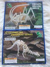 Iq Assembling Series Brontosaurus And Cricket