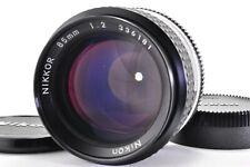 【Near Mint】 NIKON AI-S  NIKKOR 85mm f/2 Prime MF SLR Lens  From JAPAN A177