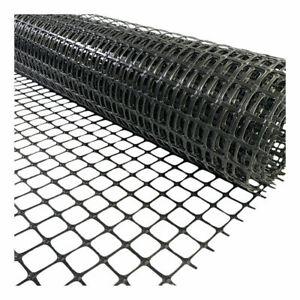 Chicken Mesh Fencing Black UV PP Barrier Fence Free Range Home Farm Garden LM