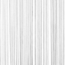 Nappa Frangia Bianco Appeso Stringa Divisore Partizione Muro 90x200cm Porta Tende, tendine.