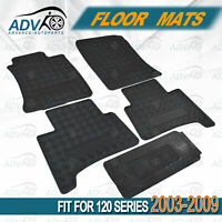 fit for Toyota Landcruiser Prado 120 Series 2003-2009 Car Rubber Floor Mats