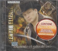 Valentin Elizalde Solamente El Gallo De Oro CD New Nuevo Sealed
