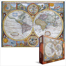 Eurographics maps jigsaw puzzles ebay jigsaw eg60002006 eurographics puzzle 1000 piece antique world map gumiabroncs Choice Image