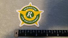 Remington Firearms Law Enforcement 3X3 Decal Shot Show 2019