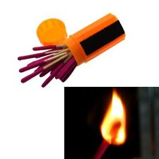 Camping Stormproof Match Matches Windproof Survival Emergency Gear Tool Lighter
