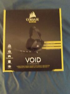 Corsair VOID Surround Hybrid Stereo Gaming Headset with Dolby 7.1 USB Adapter -