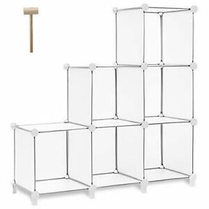 12-Cube Book Shelf Storage Shelves Closet Organizer Cubes Organizer Bookcase