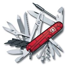 Victorinox Swiss Knife Cyber Tool L 91mm 39 funсtions Transparent Red 1.7775.T