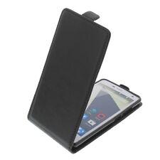 Funda para ZTE Blade L3 Smartphone Estilo Flip Funda protectora con tapa negro