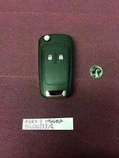 VAUXHALL 2 BUTTON REMOTE KEY FOB ASTRA J INSIGNIA 13500233 can cut and program