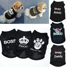 Pet Cat Small Dog Puppy Vest T-Shirt Coat Pet Clothes Summer Apparel Costumes