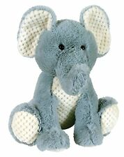 Stephan Baby Boy 10-inch Soft Plush Stuffed Animal Toy Gray Elephant 101415