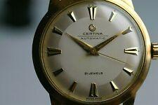 Certina Automatic Vintage Armbanduhr Top-Kaliber 28-45 1950'er Jahre Sammleruhr