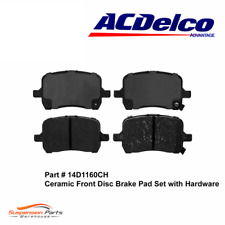 FRONT Brake Pad For Pontiac Chevrolet Saturn AC Delco Pads Ceramic Set 14D1160CH