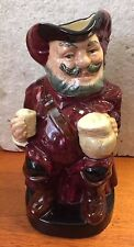 Vintage English Royal Doulton hand painted Large Toby Jug Sir John Falstaff