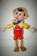 "8"" Antique American Composition & Wood Walt Disney Pinocchio Doll!"