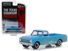 1971 CHEVROLET C10 PICKUP TEXAS CHAINSAW MASSACRE 1/64 CAR BY GREENLIGHT 44820 B