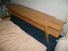 Wohnzimmer Tv HiFi Bank Tisch Buche 180 cm Breit 32-40 cm Tief 43 cm Hoch