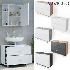 Waschbeckenunterschrank ILIAS Schublade Unterschrank Badezimmer VICCO