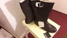 WOMENS CHOCOLATE BROWN MID CALF BOOTS SIZE 8/42 NEXT